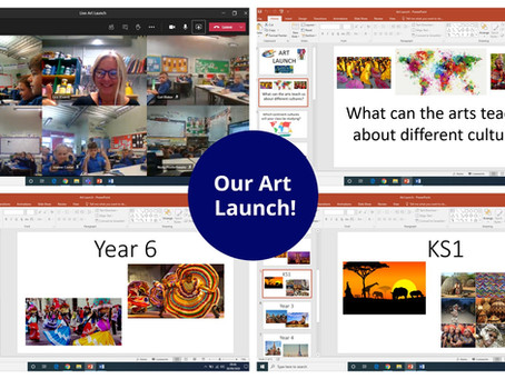 Art Learning Experience Launch