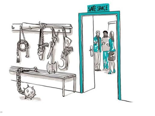 Yhteisöllistä työhyvinvoinnin johtamista Teal organisaatiossa - Safe space