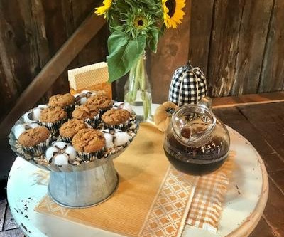 Mimi's pumpkin muffins (as seen on Great Day TV)
