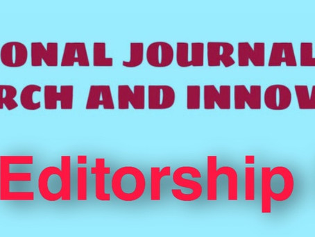 Call for Editors by National Journal for Legal Research and Innovative Ideas[NJLRII].