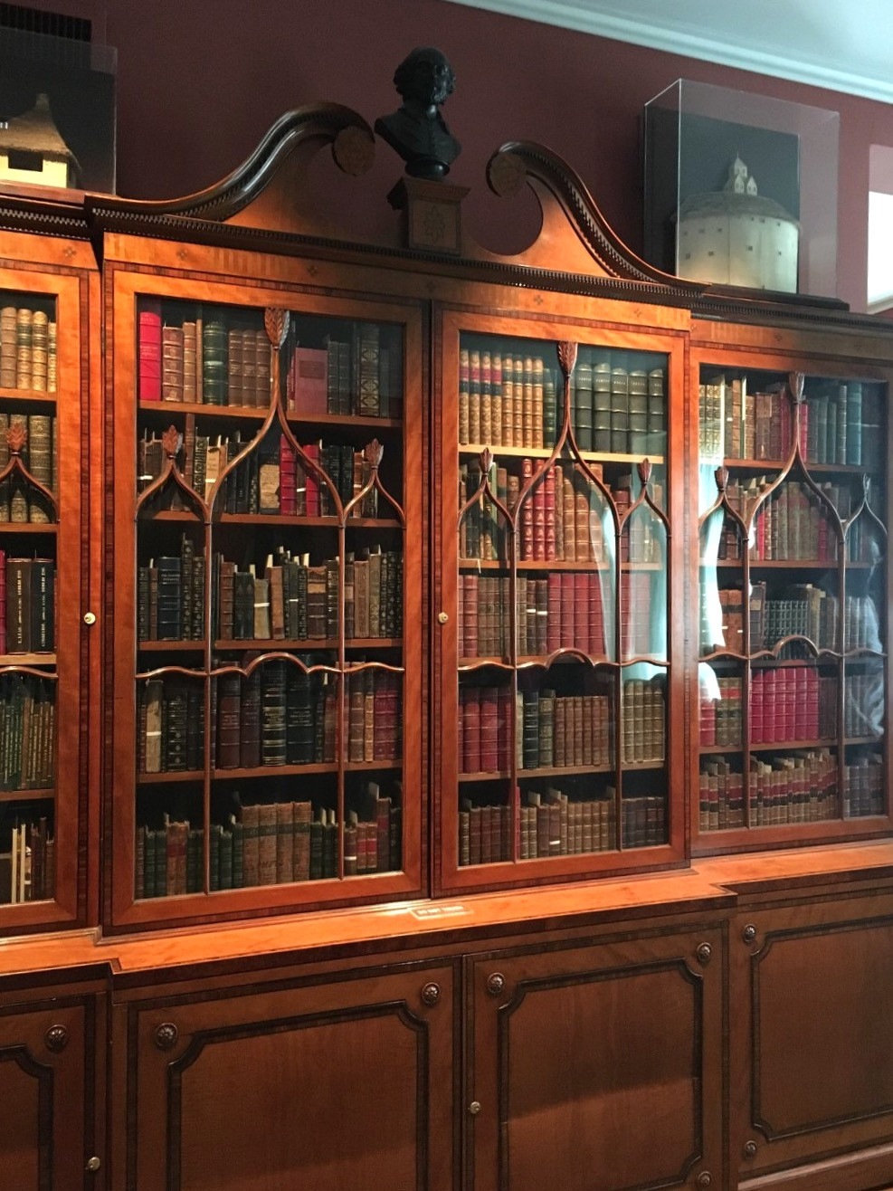 books in the Rosenbach Museum and Library