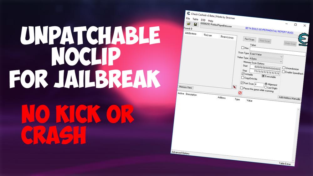 Patched Roblox Jailbreak Noclip Ccv3