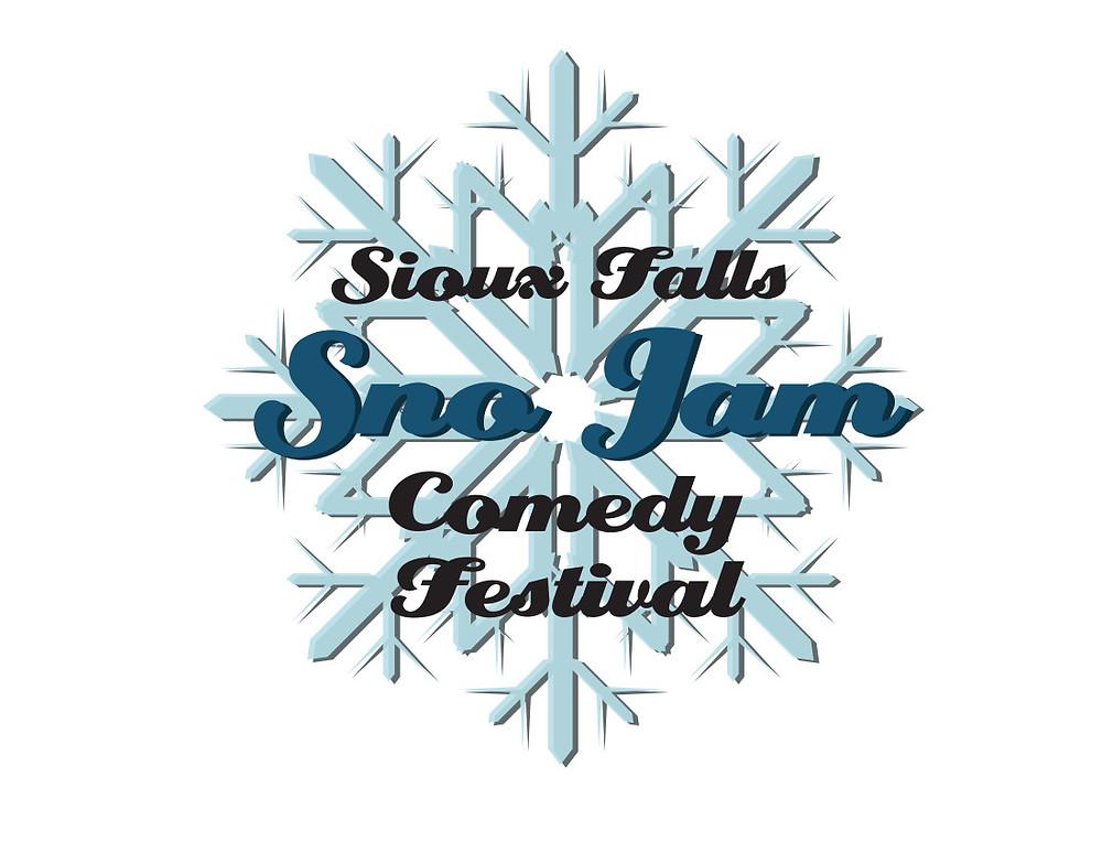 Sioux Falls Sno Jam Comedy Festival Snowflake Logo