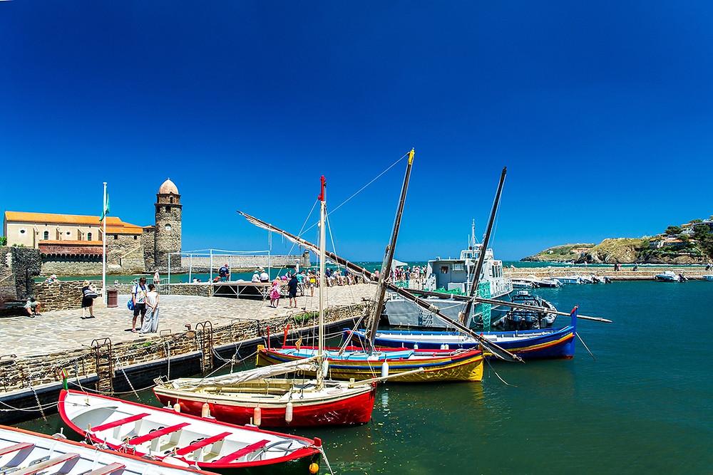 Port de plaisance de Collioure Méditerranée