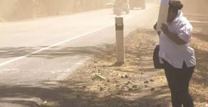 Le phénomène des nuages de sable du Sahara qui se rendent jusqu'à Cuba