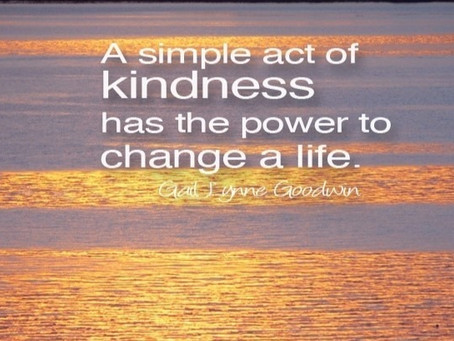 73.  The Power of Kindness