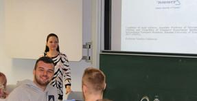 Доцент ИМТК Наталия Кислицына провела лекции в Институте прикладных наук Миттвайда (Германия)