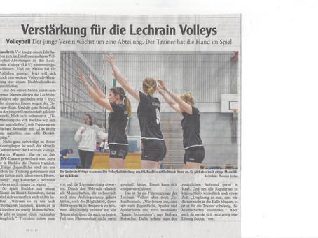 Die Lechrain Volleys wachsen