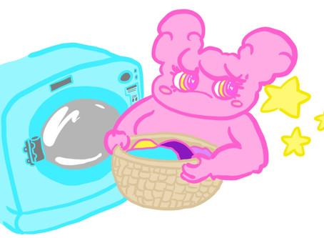 Mini Clothing Care Guide With Pompoji