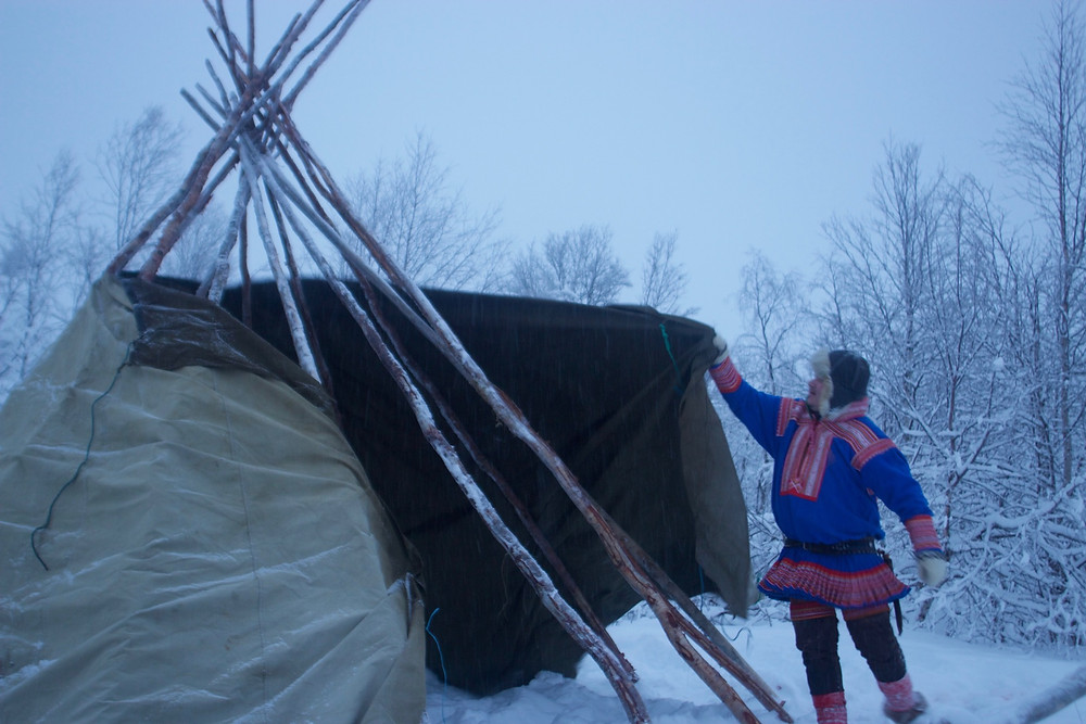 Book an authentic stay with the Sami people and explore the Sami culture and reindeer herding