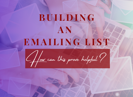 Build An Emailing List | Strawberry-Lit Magazine