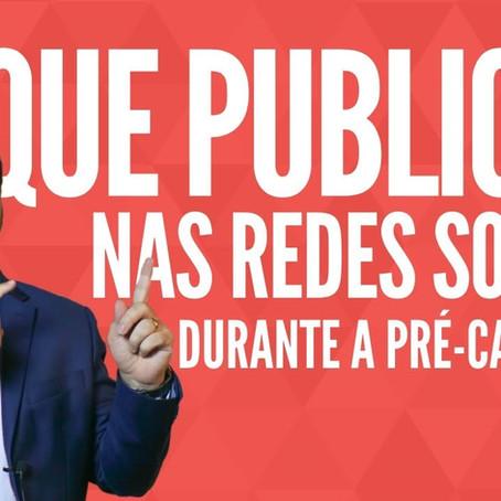 Pré-campanha eleitoral: o que publicar nas redes sociais para construir reputação.