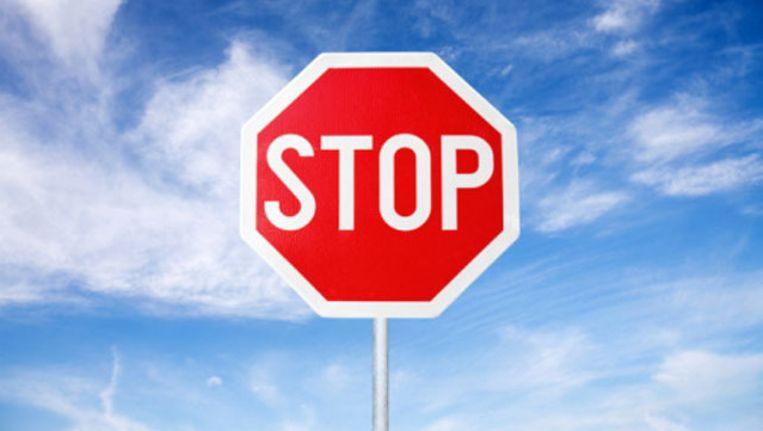 Stop huftergedrag in het verkeer