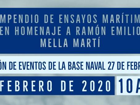 Compendio de ensayos marítimos en homenaje a Ramón Emilio Mella Martí (Don Tito Mella)