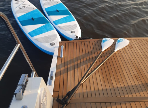 The ultimate water sports holiday; boating & stand up paddling