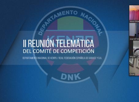 II REUNIÓN DEL COMITÉ DE COMPETICIÓN