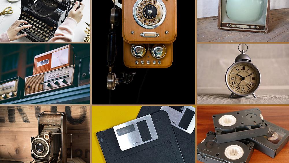 Tecnología antigua.