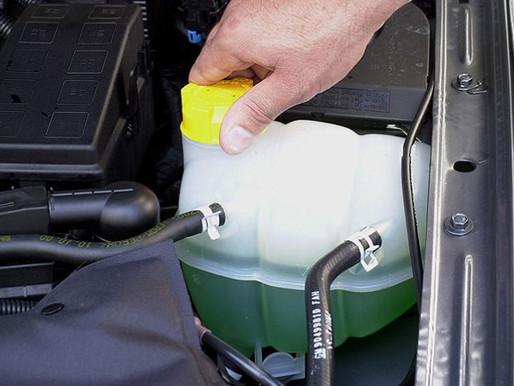 Dicas de manutenção - Liquido do sistema de arrefecimento