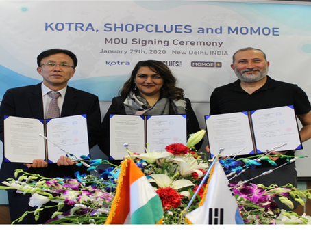 ShopClues signs MoU with KOTRA to get authentic Korean products to India