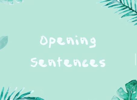 實用寫作句子