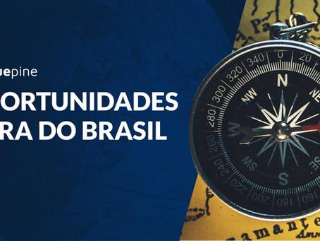 Oportunidades fora do Brasil