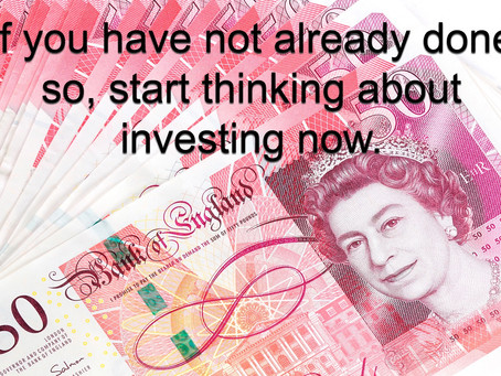 Now is a good time to think about what you should be doing with all your money.