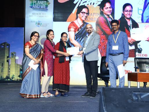 Winners at IKMC 2019, Hyderabad.