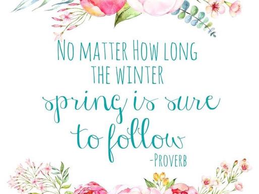 Lifestyle: Finally Spring!