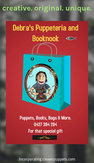 puppet with book