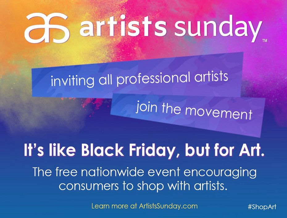 Artists Sunday Announcement