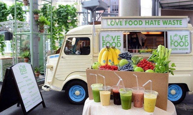 Healthy Food Truck Menu Ideas - juice & smoothies