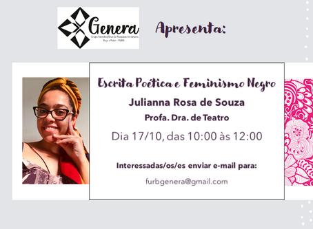 """""""Escrita Poética e Feminismo Negro"""" -"""