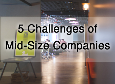 5 Challenges of Mid-Size Companies