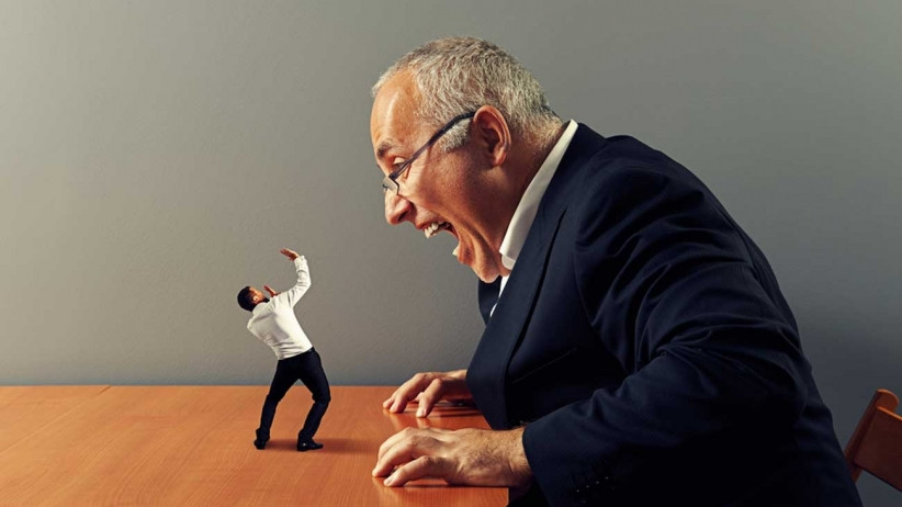 standing up to a client