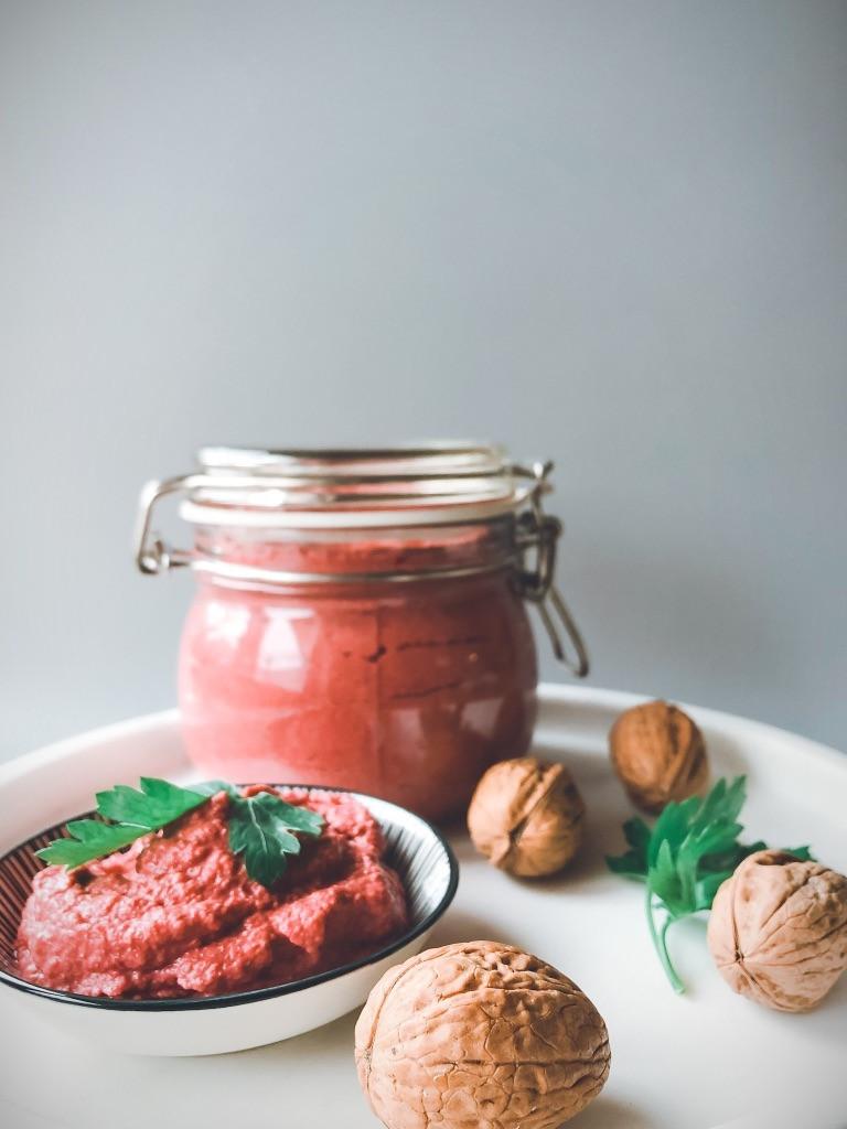 Rote Beete Walnuss Aufstrich Rezept Leicht