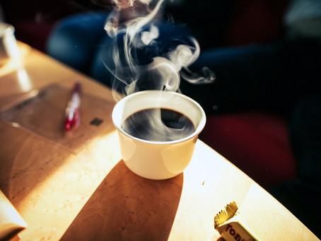 USTIONARSI FACENDO UN CAFFE'!