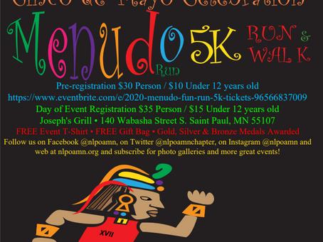 Menudo 5K Fun Run 2020