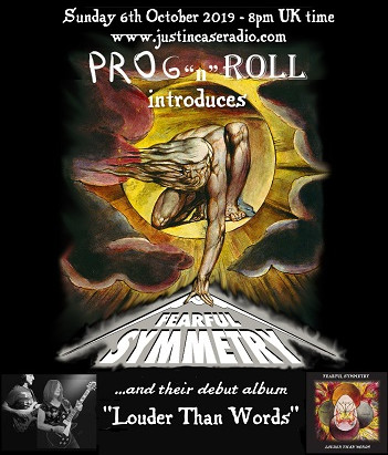 Album 'Louder Than Words' featuring on 'Prog n Roll' show - 6th Oct!