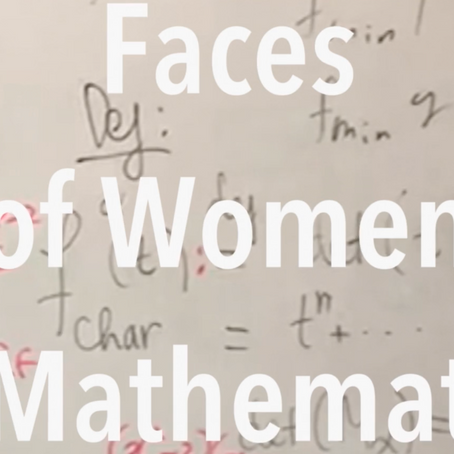 Featured in Faces of Women in Math
