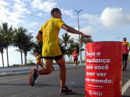 Campanha COPINHO NO LIXO incentiva atletas a jogarem seus copinhos nos pontos de coleta - MMJPA 2019