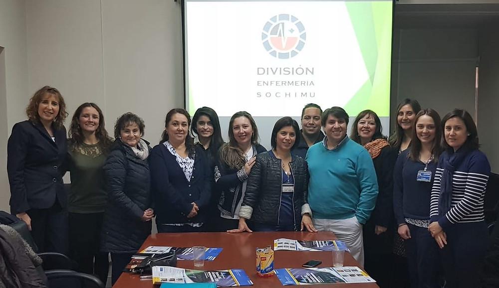 Hoy se lleva a cabo una reunión informativa de la División de Enfermería de SOCHIMU