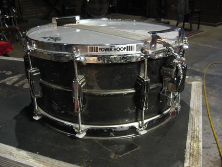 Restoring a vintage 70's Ludwig Black Beauty Snare Drum