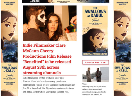 Benefited FILMINK article!