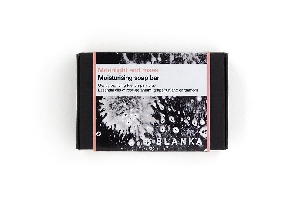 Moonlight and roses | Rose Geranium, Grapefruit and Cardamom Soap Bar