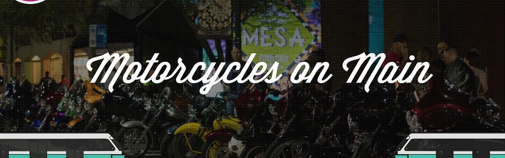 Motorcycles on Main Imahe Header