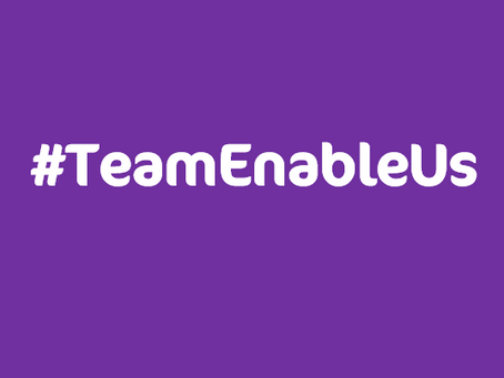 Supporting Stroke Awareness Month with #TeamEnableUs