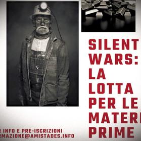 """Corso online """"Silent Wars: la lotta per le materie prime"""" - Da giugno 2021"""
