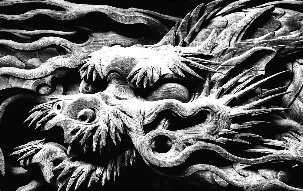 Nidhogg the Corpse Sucker or Corpse Gnawer is the dark dragon under the Norse tree Yggrasill