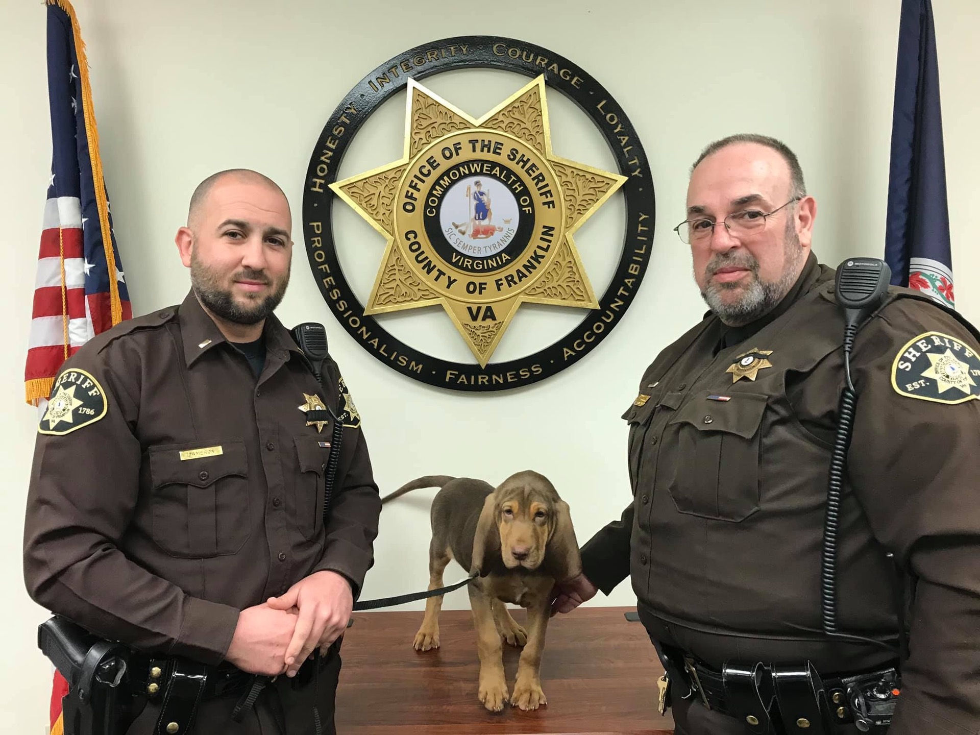 Franklin County Sheriff's Office introduces new K9, asks