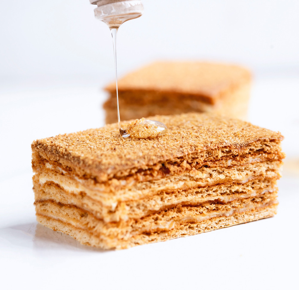 medaus tortas, medutis, Alfo receptai